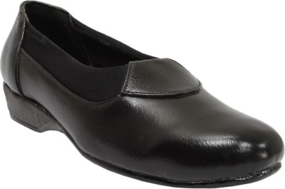 Snappy Black Formal Bellies Slip On Shoes