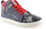 Go Run Maxis Fashion-12 Grey Red Sneaker...