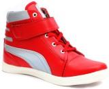 Skoene Sneakers (Red, Grey)