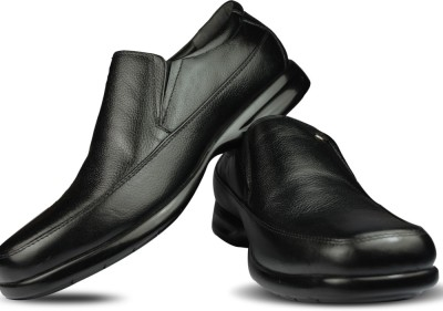 Blue Harpers Super Comfort Black Slip On Shoes