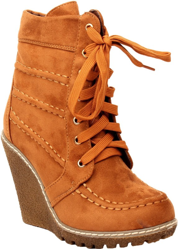 Foot Candy Boots(Tan)