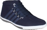 Histeria Honk Blue Canvas Casual Shoes (...