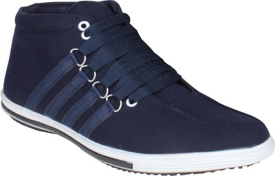 Histeria Honk Blue Canvas Casual Shoes