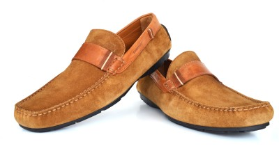 Language Casual Suede Loafers