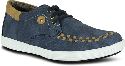 Fab Fashion Blue Stylish Casual Shoes