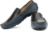 tZaro Bluejazz Loafers (Black, Blue)