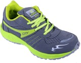 Porcupine Laced Running Shoes (Grey, Gre...