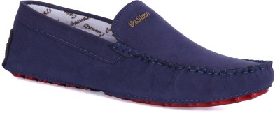 Royal Collection Blue Loafers