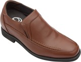 Dvano Shoes DFM121-2A Slip On (Brown)