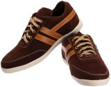 Spiky Casual Shoes (Brown)