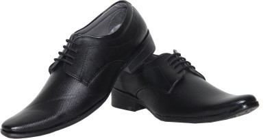 Azzaro Black Burdy Lace Up Shoes