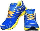 Livia Blue Tiger Running Shoes (Blue)