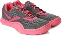 Reebok Field Effect Lp Running Shoes(Pink, Grey)