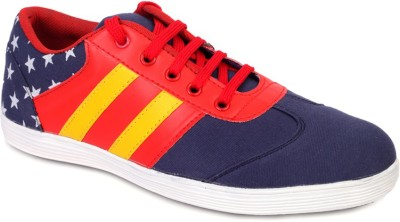 Marcbeau Cnvs Mid Ankle Sneakers