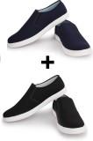 Musk Duck Loafers (Black, Blue)