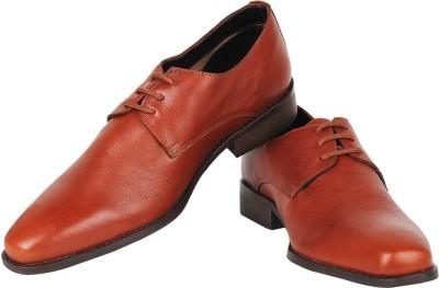 Zeta Solid Lace Up Shoes