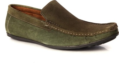 Sole Strings Mens Loafers(Olive)