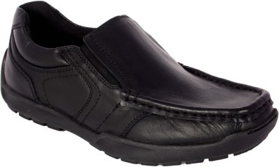Little Feet School Slip On Shoes