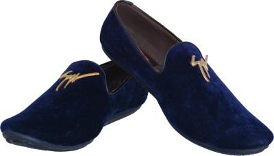 Marshal Velvet Loafers