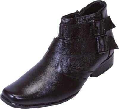 Shoebook Black Boots(Black)