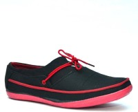 Vogue Guys Balance Black Red Casual Shoes