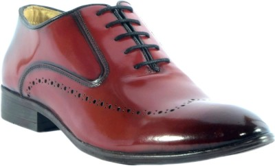 URBAN NATION Italian Exotic dual Finish Lace up Shoe Party Wear