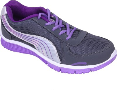 Delux Look Badminton Shoes(Purple)