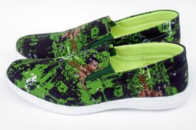 PowerKick Buildkick Green Casual Shoes