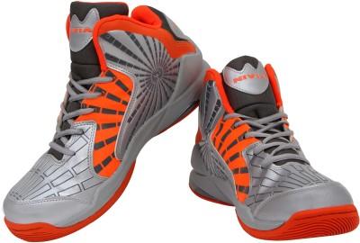 Nivia Phantom Basketball Shoes(Orange, Grey)