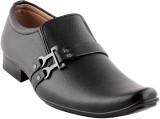 Smart Wood 2508 BLK Slip On Shoes (Black...
