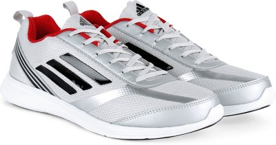 Adidas ADIRAY M Men Running Shoes(Black, Grey, Silver) at flipkart
