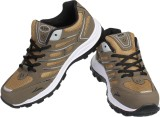Air Space Running Shoes (Brown, Black)