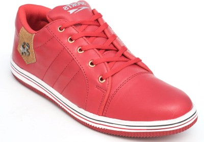 TheWhoop Mens Premium Red Funky Casual Shoe Sneakers
