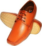 Fashion67 Men's Casual Shoes (Tan)