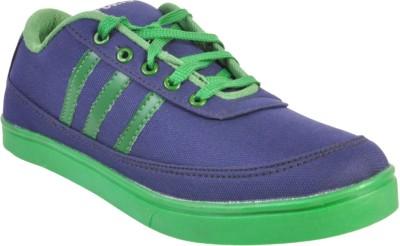 Walk Free Dark Blue Canvas Shoes
