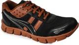 Kaar Running Shoes (Black, Red)