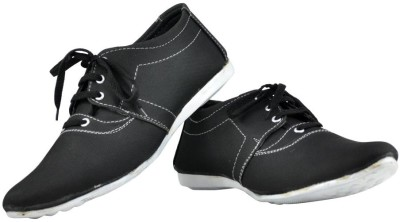 Alpha Man Classic Black Pointy Toe Casuals