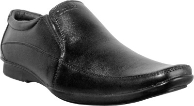 Cognisol Italian Black Slip On Shoes