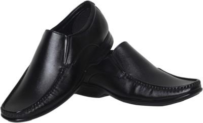 Azzaro Black Bruno Slip On Shoes