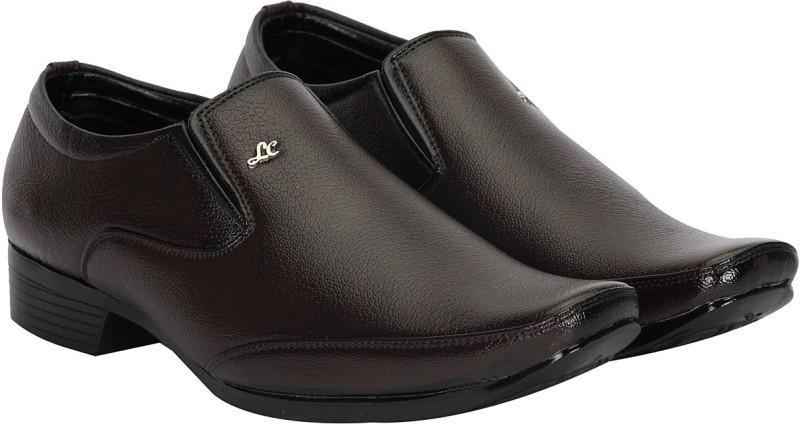Kraasa Slip On Shoes(Brown)