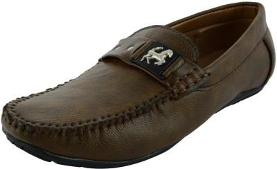 VOGUE GUYS brown eagle loafer Loafers