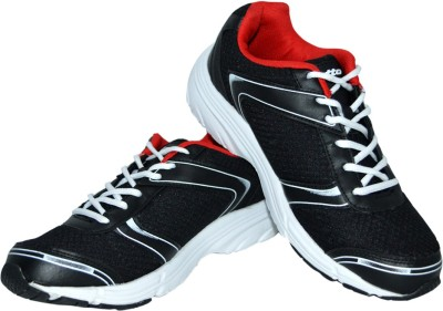 Lotto Lite Running Shoes(Black, Red)