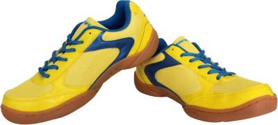Nivia Flash Badminton Shoes(Yellow, Blue)