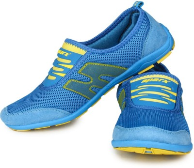 Sparx Stylish Blue Yellow Running Shoes