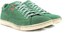 Levi's Men Ankle Length Boots(Green)