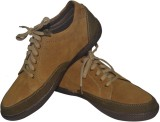 Strive Suede Leather Casual Shoes (Khaki...