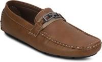 Kielz Stylish Camel Loafers Loafers