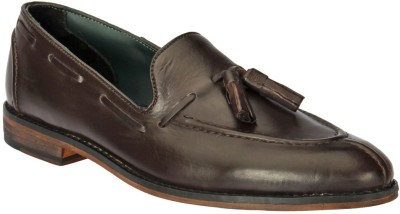Black Pony Casual Loafers