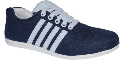 Shoekool Blue & White For Ladies & Girls Casual Shoes