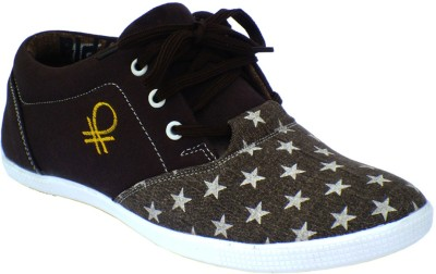 Reveller XL brown star shoes Canvas Shoes